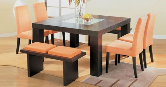 Dining Table Set Gl Top