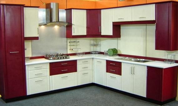 Kitchen Cabinets Modular Modern Worktops Shutter Finishes